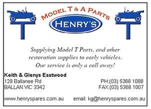 Henrys T Parts